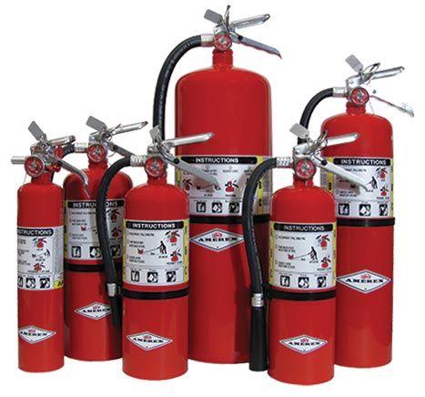Commercial Fire Extinguishers