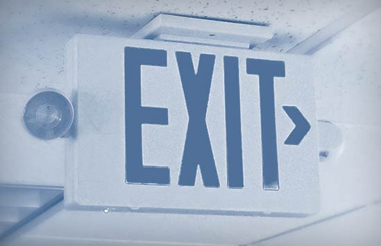 Exit Signs / Emergency Lighting