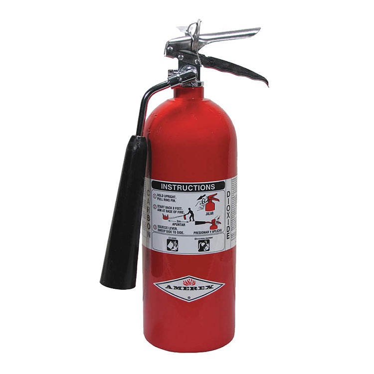 Amerex CO2 Fire Extinguisher